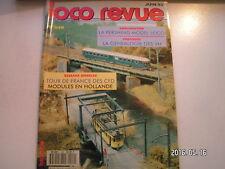 **d Loco Revue n°549 La CC 71000 Rivarossi / Caisse de CC 40100 sur base Lima