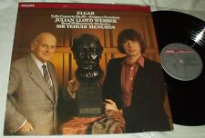ELGAR Cello Concerto/Enigma Variations Julian Lloyd Webber Menuhin LP Philips