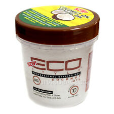 ECO STYLE Coconut Hair Styling Gel Max Hold 8 fl oz (4175)
