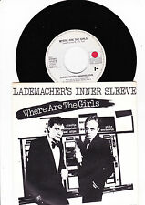 "7"" Lademacher´s Innersleeve - Where are the Girls"