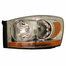 Dodge Ram Dakota Pick Up Truck 06-07 Left Headlight Headlamp Lens & Housing