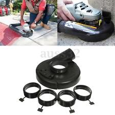 "18cm/7"" Black Vacuum Dust Shroud Cover for Angle Grinder Hand Grind Convertible"
