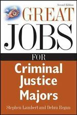 Great Jobs for Criminal Justice Majors (Great Jobs Series)-ExLibrary