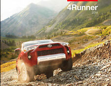 2014 Toyota 4Runner 24-page Original Car Sales Brochure Catalog - SR5 Trail