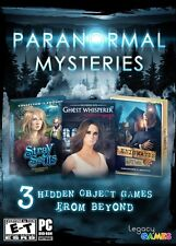 (NEW SEALED) PARANORMAL ADVENTURES THE ULTIMATE COLLECTION PC WINDOWS MAC GAMES