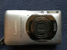 Canon PowerShot Digital SD 1300 - Silver - Not Working - AS IS