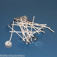 20 x EM3C2-16 Candle Wicks 10cm Long Ready Prepared For Container Candles