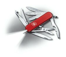 0.6386 VICTORINOX SWISS ARMY POCKET KNIFE MIDNITE MINICHAMP RED 06386 BRAND NEW