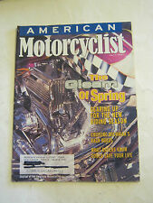 April 1997 American Motorcyclist Magazine, The Gleam Of Spring  (BD-26)