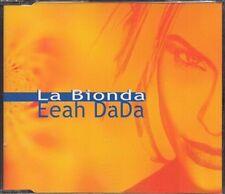 LA BIONDA - EEAH DADA - CD SINGLE MAXI JEWEL CASE 3 Titres 1999