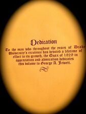 "1929 DRAKE UNIVERSITY  YEARBOOK ""QUAX"" ~ Very fine used condition!-"