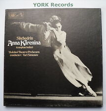 SLS 887 - SHCHEDRIN - Anna Karenina SIMONOV Bolshoi TO - Ex 2 LP Record Box Set