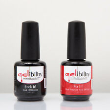 Gelibility Fix It Stick It Palette 2pcs Set Turn Your Nail Polish to Gel Polish
