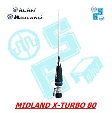 ANTENNA CB MIDLAND X TURBO 80 AUTO CAMION CAMPER RADIO BARACCHINO ALAN xturbo80
