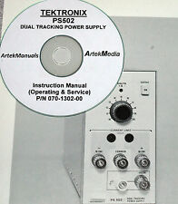 TEK PS502 Power Supply Instruction Manual (Ops&Service)