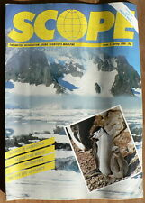 VINTAGE SCOPE MAGAZINE - BRITISH ASSOCIATION YOUNG SCIENTISTS - No 3 SPRING 1986