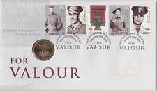 "**2000  scarce Australian ""Victoria Cross for Valour"" $1 coin PNC **"