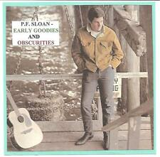 """P.F. SLOAN - """"EARLY GOODIES & OBSCURITIES""""  *28* tracks"""