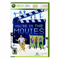 You're In The Movies Solus Game For The Xbox 360 - Camera Not Included