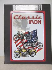 Collector Metal Signs -Classic American Iron (Motorcycle) Metal sign