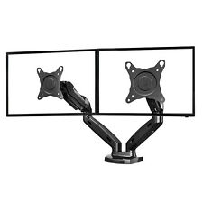 F160— Dual Gas-strut Desktop FlexiMount Dual Monitor Stand Bracket for LED/LCD
