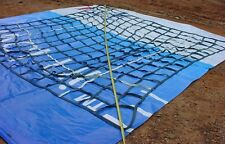 Cargo Net 12' x 12' Climbing Heavy Duty Tree House Mud Run Military 2500lb NEW
