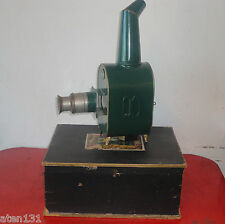 ANTIQUE GEGRUNDET MAGIC LANTERN PROJECTOR LATERNA MAGICA 1866 BOXED SET TIN TOY