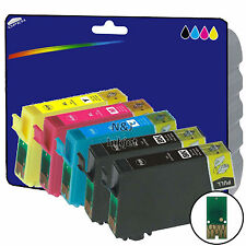 1 Set + 1 Black non-genuine Printer Ink Cartridges for Epson XP-225 [E1811]
