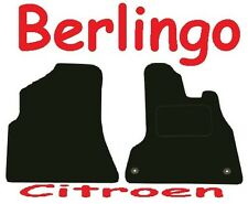 Citroen Berlingo Van Tailored Deluxe Quality Car Mats 2008 Onwards