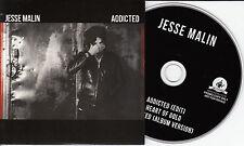 JESSE MALIN Addicted 2015 UK 3-track promo CD