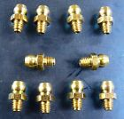 10 x 2BA OIL GREASE NIPPLES - MACHINE OILER LUBE POINTS VINTAGE LATHE CAR ZERK