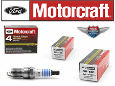 Set of 6 pcs Motorcraft  SP-486 with Dielectric Grease & Anti-Size Lubricant