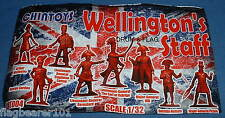 CHINTOYS cht004 WELLINGTON'S STAFF . 1/32 SCALE FIGURES. 55-60mm