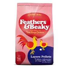 Feathers & Beaky Layers Pellets 15kg