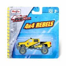 Maisto Fresh Metal 4 x 4 Rebels Chevrolet Pickup gelb / yellow, 1:64