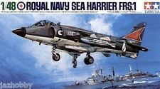 Tamiya 61026 1/48 Aircraft Model Kit British Royal Navy Hawker Sea Harrier FRS.1