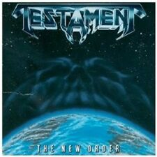TESTAMENT - THE NEW ORDER CD HEAVY METAL 10 TRACKS NEU