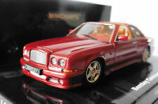 BENTLEY CONTINENTAL SC 1996 RED METAL MINICHAMPS 436 139991 1/43 OPEN ROOF LHD