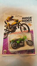 1986 Ridge Riders Zee Toys / Kawasaki Mach III Street Bike /  # 29240 / NEW !!!