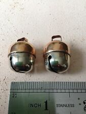 MEDIUM / SIZE 2 Acorn Falconry Bells,Cat / Dog come as a pair only 6g in weight.