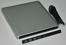 USB 3.0 External DVD Enclosure Case For 9.5mm SATA DVD RW Blu Ray Optical Drive