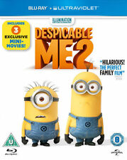 DESPICABLE ME 2****BLU-RAY****REGION B****NEW & SEALED