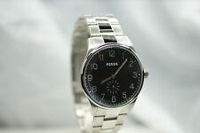 FOSSIL Herrenuhr FS4852 top Uhr schwarz breit  Edelstahlarmband klassisch NEU