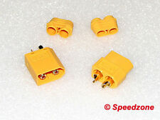 5 Pairs XT60 Connectors Female & Male High Quality with Cap Buckle R/C Lipo