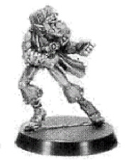 GAMES Workshop BLOOD BOWL miniatura: Elf inosservato N. 3 - 2nd EDN 1988 BLOOD BOWL