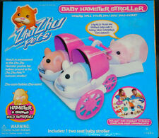 ZhuZhu Pets Baby Hamster Stroller Toy Child Pet Two Seat Free Shipping NIB