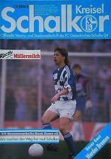Programm 1991/92 FC Schalke 04 - Werder Bremen
