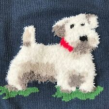 Genuine CATH KIDSTON Fluffy Billie Stanley Dog Jumper Sweater SMALL New with Tag
