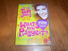 THIS IS TOM JONES WHAT'S NEW PUSSYCAT? TV Show Bee Gees TIME LIFE RARE DVD