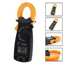 Portable AC DC Voltage LCD Digital Clamp Multimeter Electronic Tester Meter BS